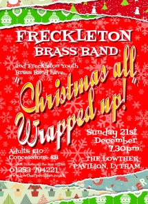 Freck Christmas Poster A3 2014