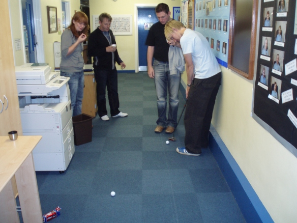 Crazy Golf - Recording 2007