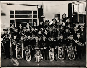 Freckleton Band 1958