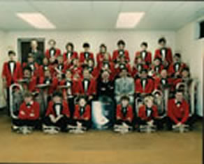 Freckleton Band in the 1980s
