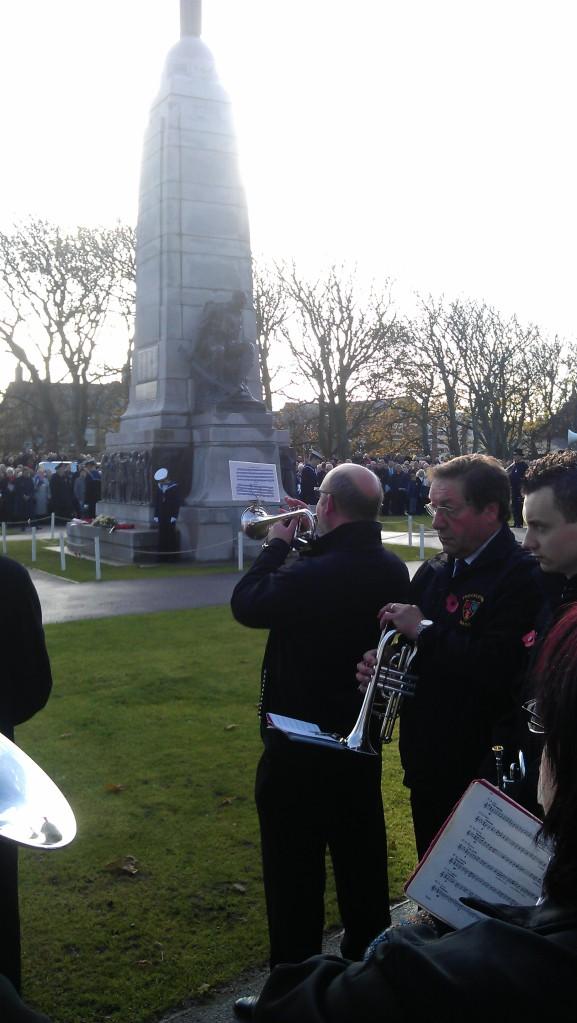 St Annes Cenotaph 2012 - Last Post