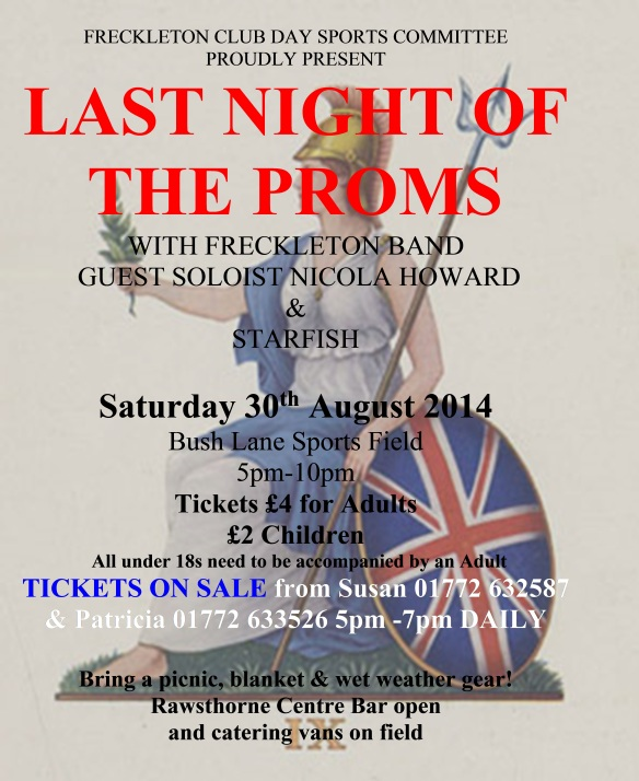 Last Night of the Proms 2014