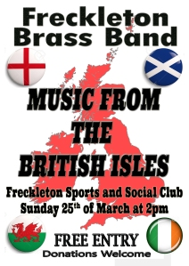 British Isles - 25th March